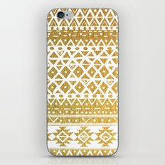 GOLDEN TRIBAL iPhone & iPod Skin
