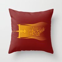 Space Horse (Spikes Hors… Throw Pillow