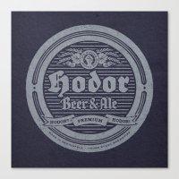Hodor Premium Canvas Print