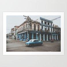 Classic Havana Art Print