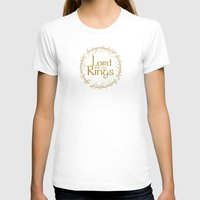 lord of the rings T-shirts featuring LORD OF THE RINGS by MiliarderBrown