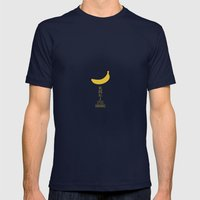 Bananas Mens Fitted Tee Navy SMALL