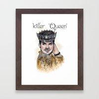 Killer Queen Framed Art Print