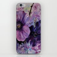 Bleu de printemps iPhone & iPod Skin
