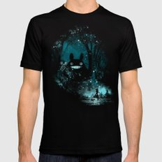the big friend Mens Fitted Tee Black SMALL