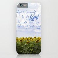 Sunflower Delight - Psal… iPhone 6 Slim Case