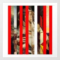 Stars in stripes 5 + Art Print