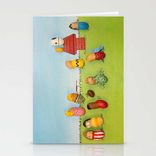 Real Peanuts Stationery Card