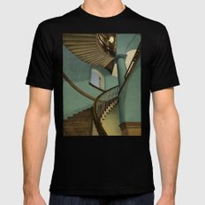 Ascending Mens Fitted Tee SMALL Black