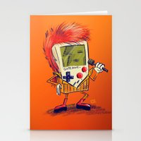 Game Bowie Stationery Cards
