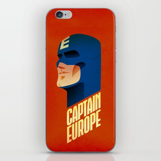 Captain Europe iPhone & iPod Skin