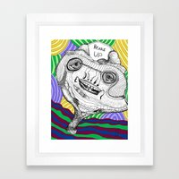 Heads Up Framed Art Print