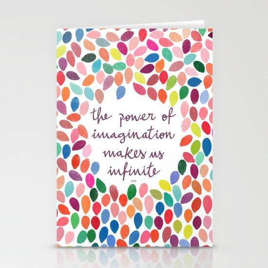 Imagination by Anna Carol & Garima Dhawan Stationery Card
