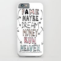 iPhone & iPod Case featuring FAME by When the robins came