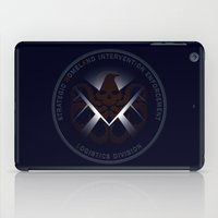 Hidden HYDRA - S.H.I.E.L.D. Logo with Wording iPad Case