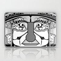 Tribal Design Face - 1 Laptop & iPad Skin