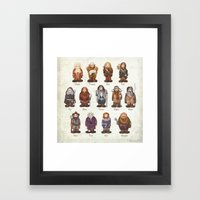 dwarves  Framed Art Print