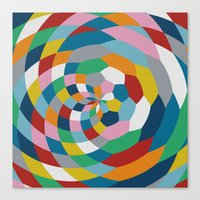 Honey Twist Canvas Print