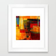 Autumn Landscape Framed Art Print