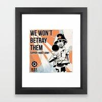 Propaganda Series 5 Framed Art Print