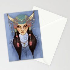 Mongolian Princess Stationery Cards