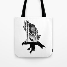 THE EAGLE AND THE DEER Tote Bag