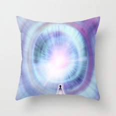 The Search of Light Throw Pillow