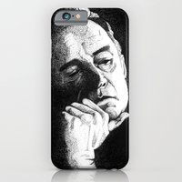 iPhone & iPod Case featuring Johnny Cash II Pointillism by Daniel Cash