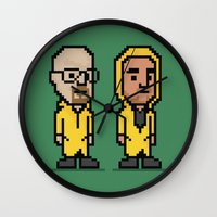 8-Bit: Breaking Bad Wall Clock