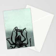 Captain and the Seamonster  Stationery Cards
