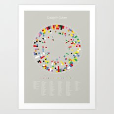 Colours in Culture Art Print