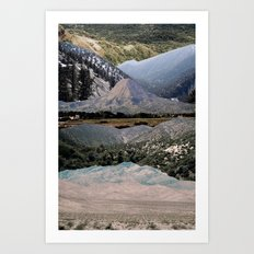 Mountains beyond mountains Art Print