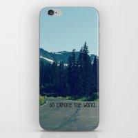 Go Explore The World iPhone & iPod Skin