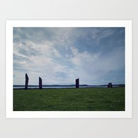 The Stones Of Stennes Art Print