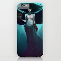 iPhone Cases featuring Lilith by Rudy Faber