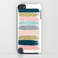 Zara - Brushstroke Glitt… iPod touch Slim Case