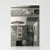 Hanging a painting fail - tim burton Stationery Cards