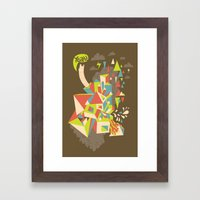 Yeah! Framed Art Print