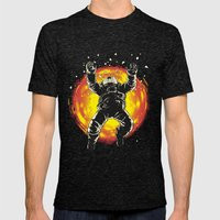 Lost In The Space Mens Fitted Tee Tri-Black SMALL