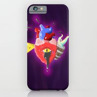 iPhone & iPod Case featuring Cursed Heart by 8 BOMB