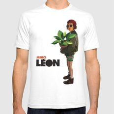 Mathilda, Leon the Professional Mens Fitted Tee SMALL White