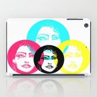 CMYK Punk iPad Case