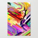 Neon Dreams Canvas Print