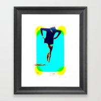 Woman Emerging (h) Framed Art Print