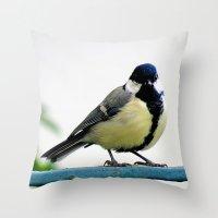 MM - Chikadee Throw Pillow