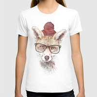 lady gaga T-shirts featuring It's pretty cold outside by Robert Farkas
