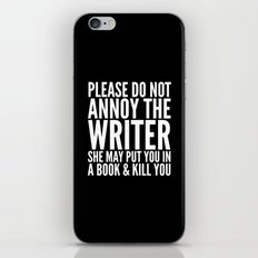 Please Do Not Annoy The … iPhone & iPod Skin