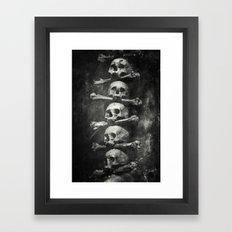 Once Were Warriors VI. Framed Art Print