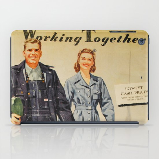 1942 Working Together Cover iPad Case