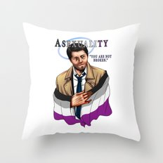 Fandom Pride : Asexualit… Throw Pillow
